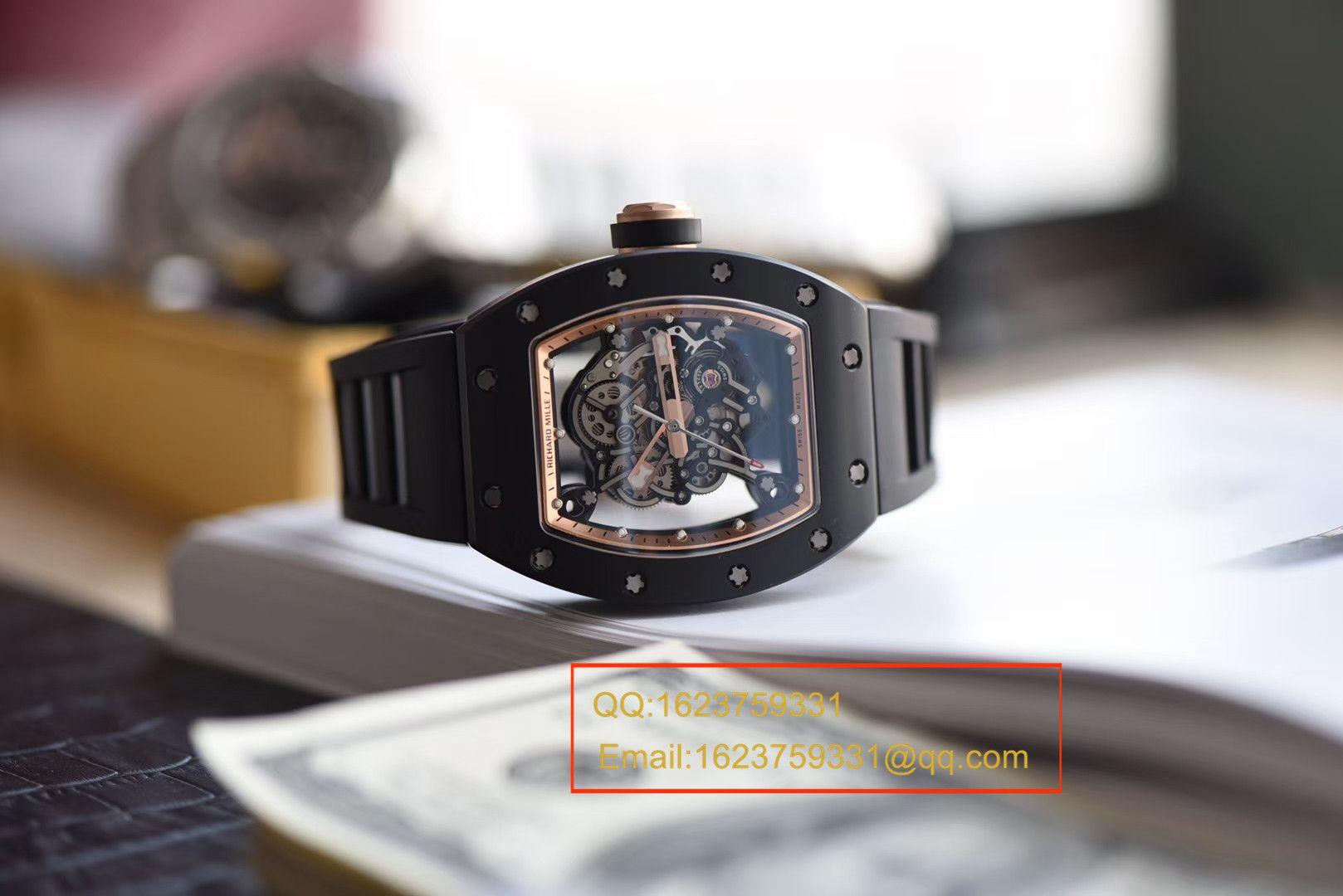 【独家视频评测KV厂一比一超A精仿手表】理查德米尔RICHARD MILLE男士系列RM 055腕表 / RM 055B