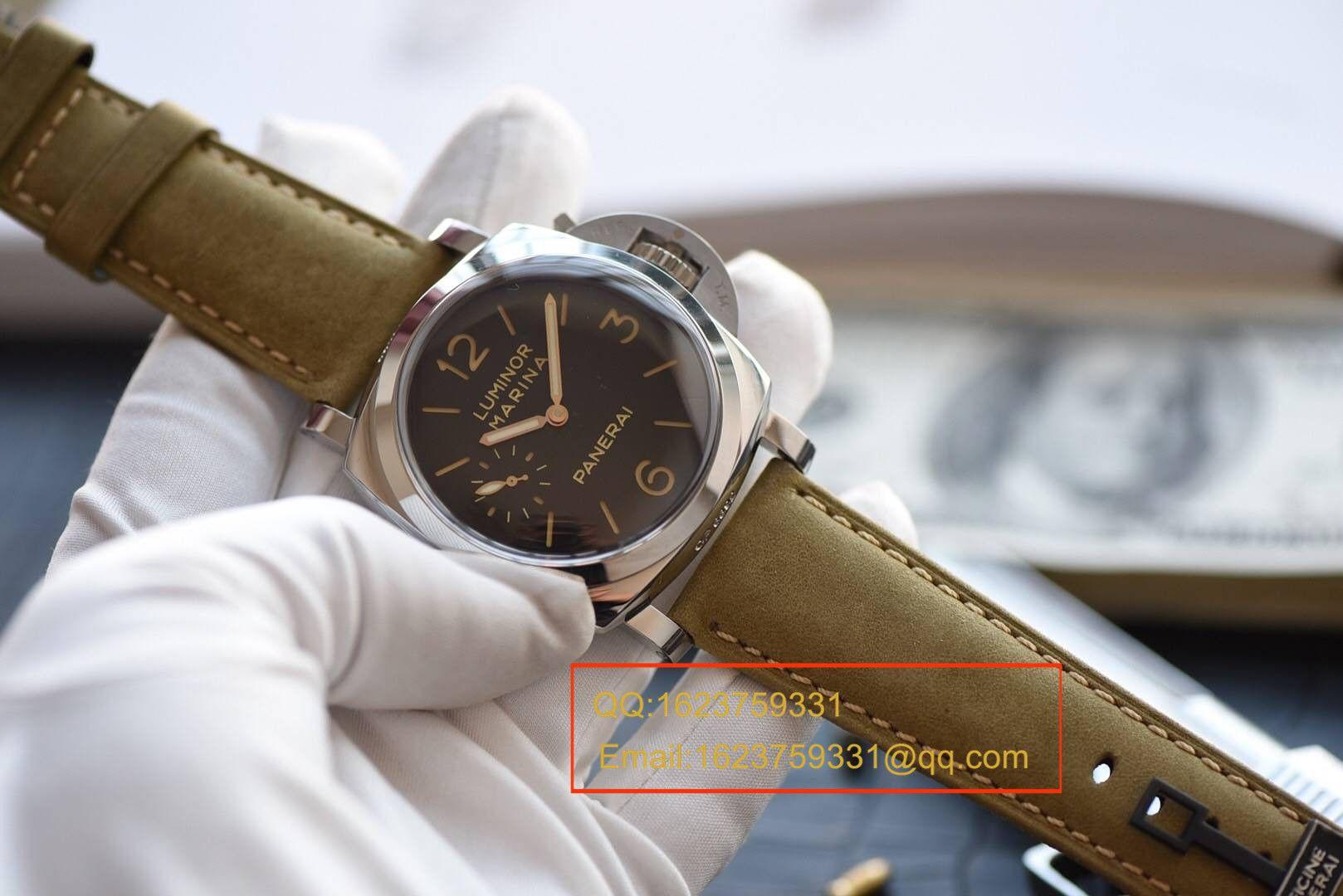 【视频评测SF厂一比一超A高仿手表】沛纳海LUMINOR 1950系列PAM00422腕表 / PAMBB00422