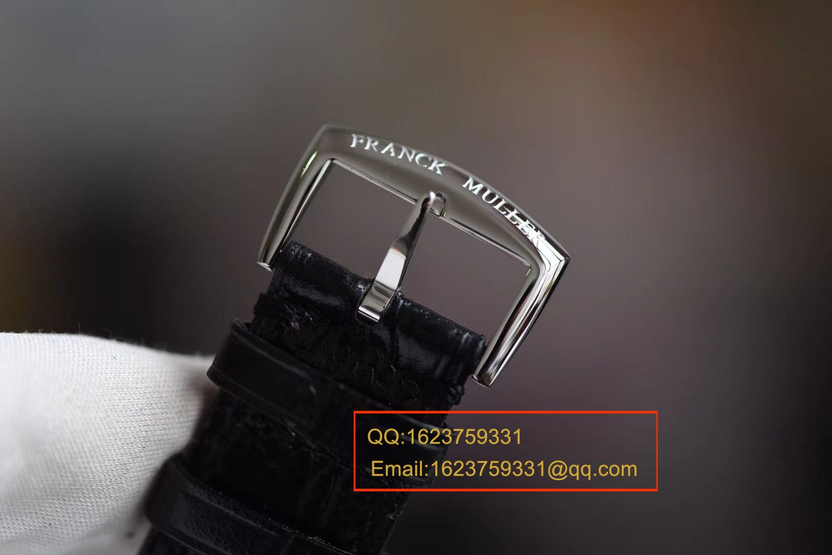 【GF厂一比一超A高仿手表】Franck Muller法穆兰MASTER SQUARE系列6002 M QZ女士石英腕表 / FL022