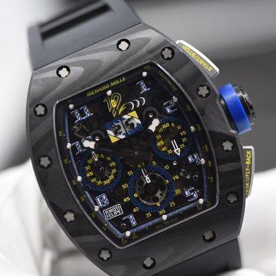 【独家视频评测KV最强版本一比一超A高仿手表】理查德米勒RICHARD MILLE男士系列RM 011腕表