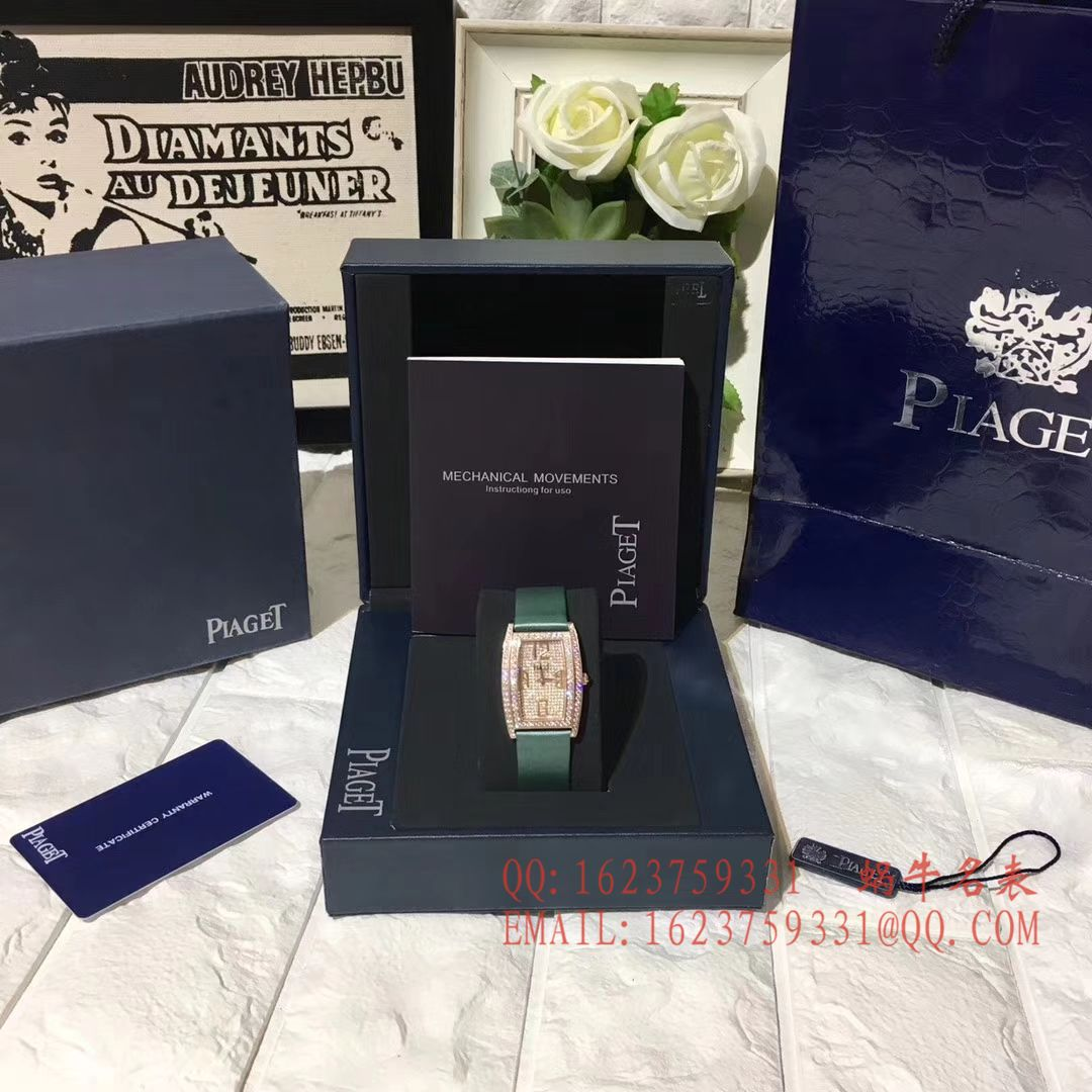 【台湾厂一比一超A高仿手表】伯爵LIMELIGHT酒桶形系列 G0A39093女士腕表 / PT022