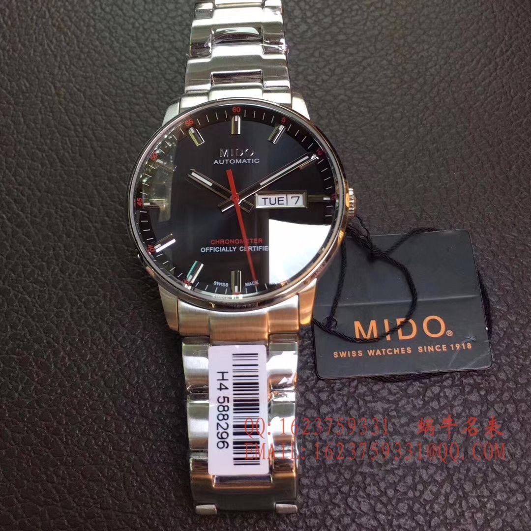 【台湾厂一比一超A高仿手表】美度指挥官系列M021.431.11.041.00腕表 / MD06