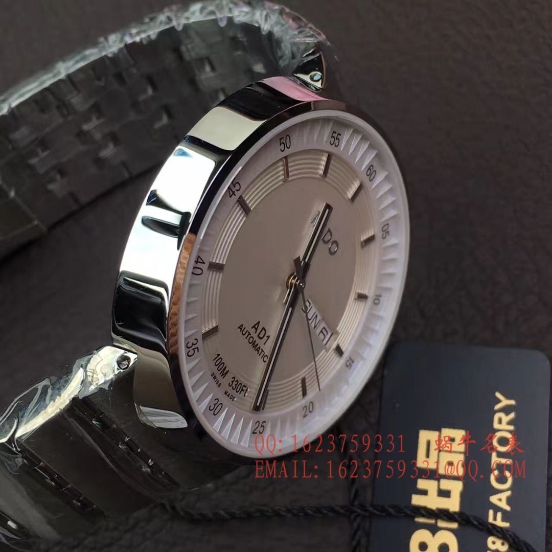 【V8厂1:1超A高仿手表】美度完美系列M8330.4.11.13腕表 / M20