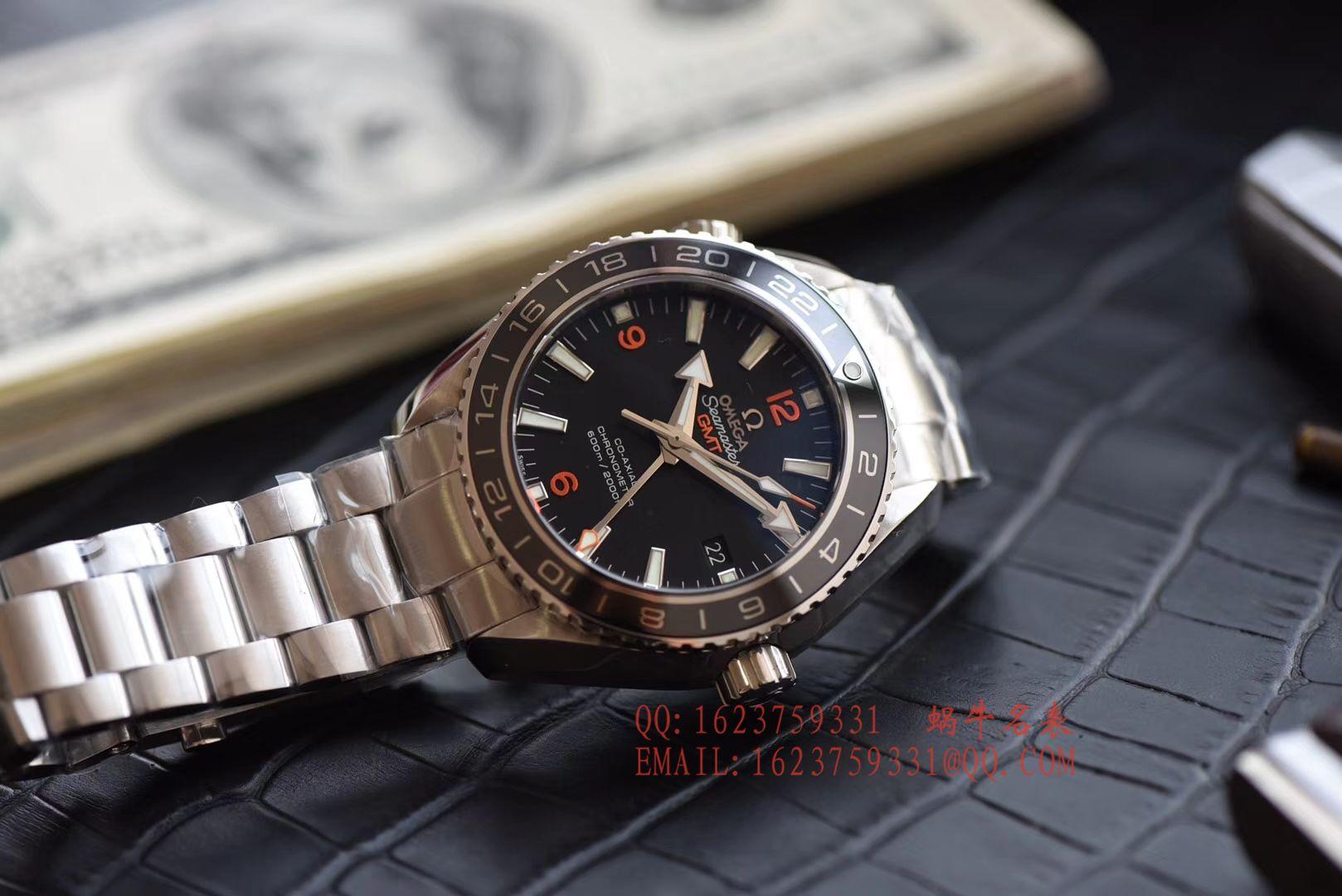 【KW一比一超A高精仿手表】欧米茄海马海洋宇宙600米腕表系列232.30.44.22.01.002GMT腕表 / M045