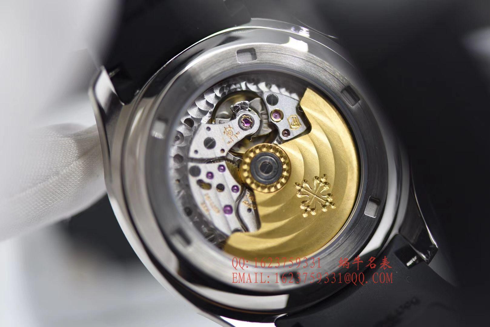 【BP1:1超A高仿手表】百达翡丽AQUANAUT系列5167A-001腕表《百达翡丽手雷》 / BD160