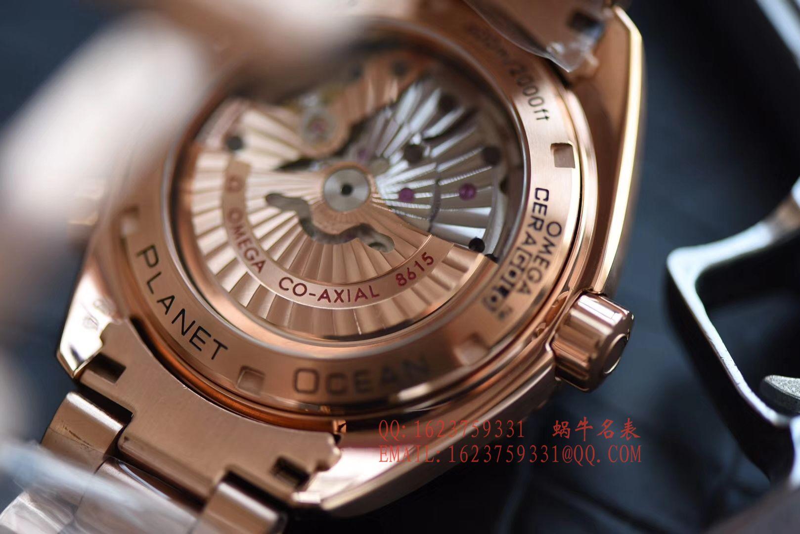 【KW一比一超A高仿手表】欧米茄海马 海洋宇宙600米系列 232.63.44.22.01.001GMT腕表 / MAI313