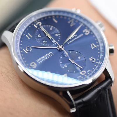 【YLV7版本一比一超A高仿手表】万国IWC葡萄牙系列计时IW371491腕表《蓝面葡计》价格报价