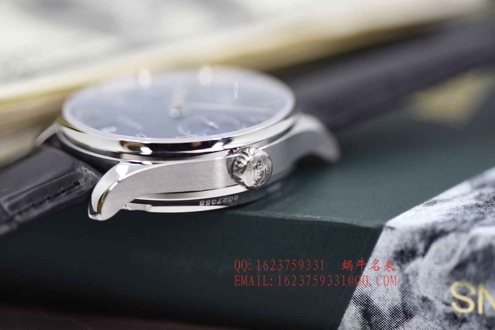 【独家视频评测ZF一比一超A高仿手表V5版本】万国葡萄牙七天7 DAYS系列 IW500710腕表《葡七蓝面》 / WG316