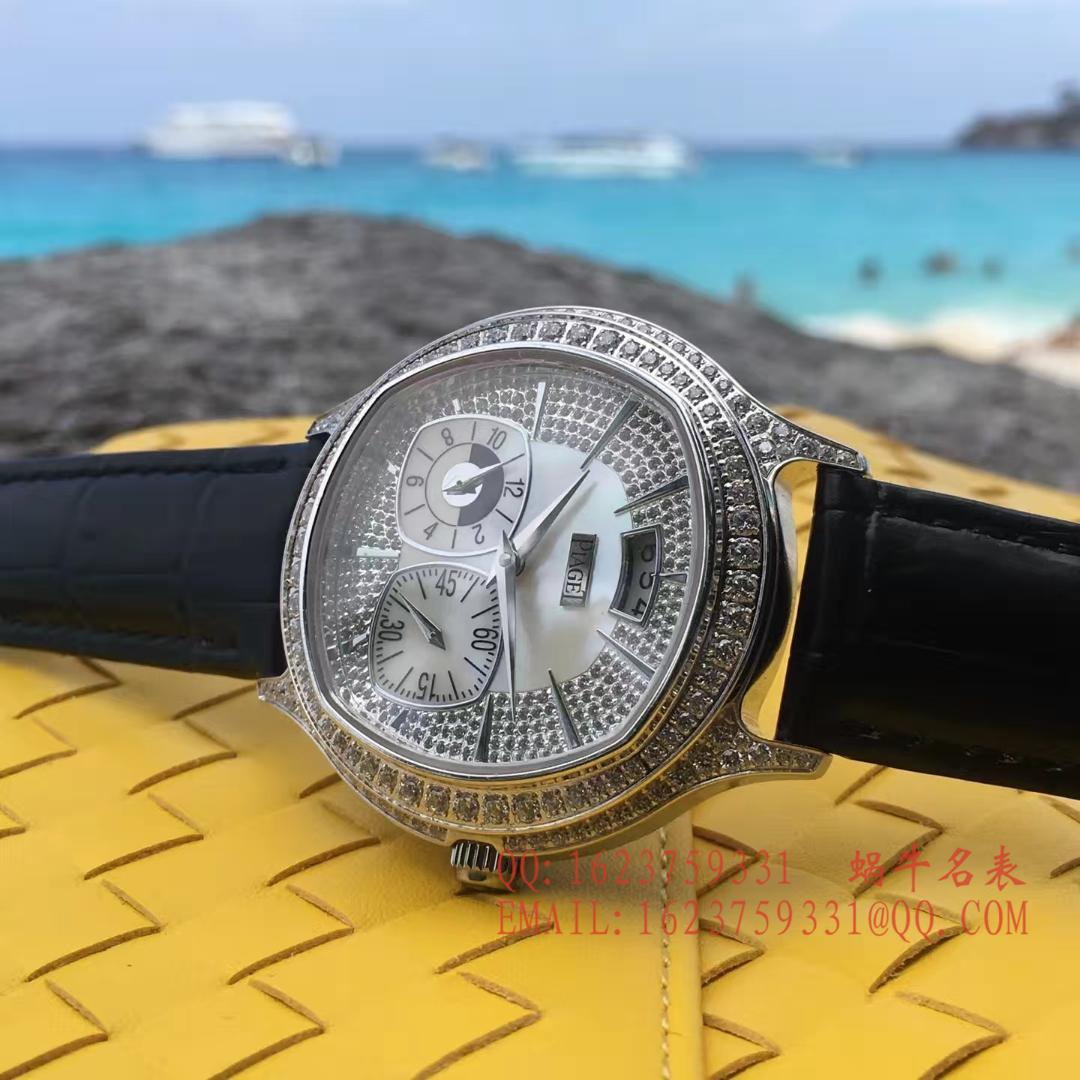 【台湾一比一超A高仿手表】伯爵BLACK -TIE系列G0A32018腕表 / PT023