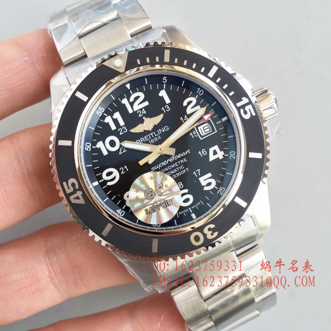 【GF厂一比一超A高仿手表】百年灵超级海洋二代系列腕表(SUPEROCEAN Ⅱ)A17392D7/BD68/162A腕表 / BL037