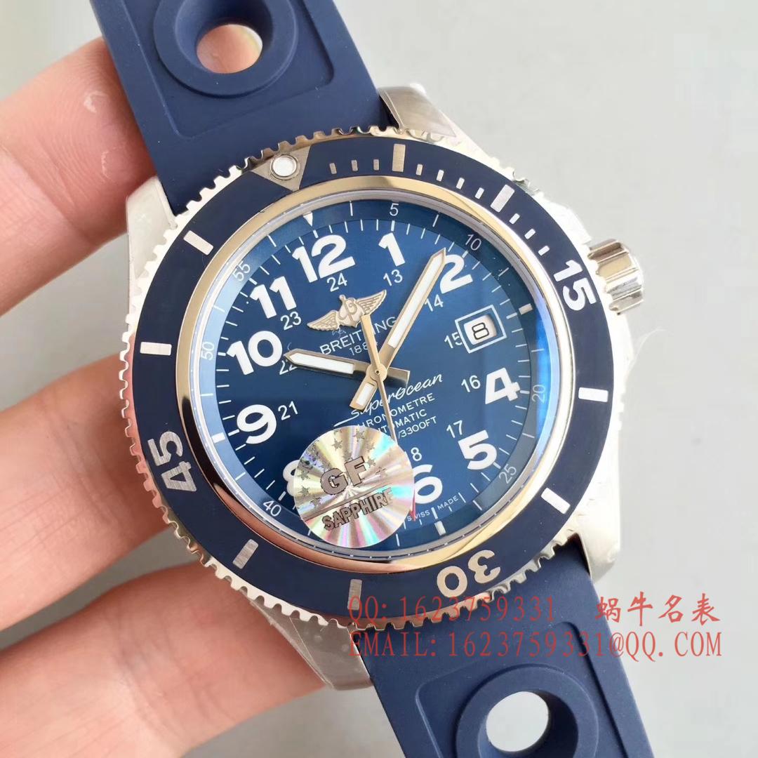 【GF一比一超A高仿手表】百年灵超级海洋系列A17392D8 C910 228S A20SS.1腕表 / BL060
