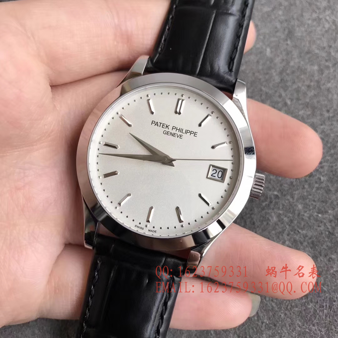 【台湾一比一超A高仿手表】百达翡丽Patek Philippe-古典表系列 5296G-010男士机械手表 / BD135