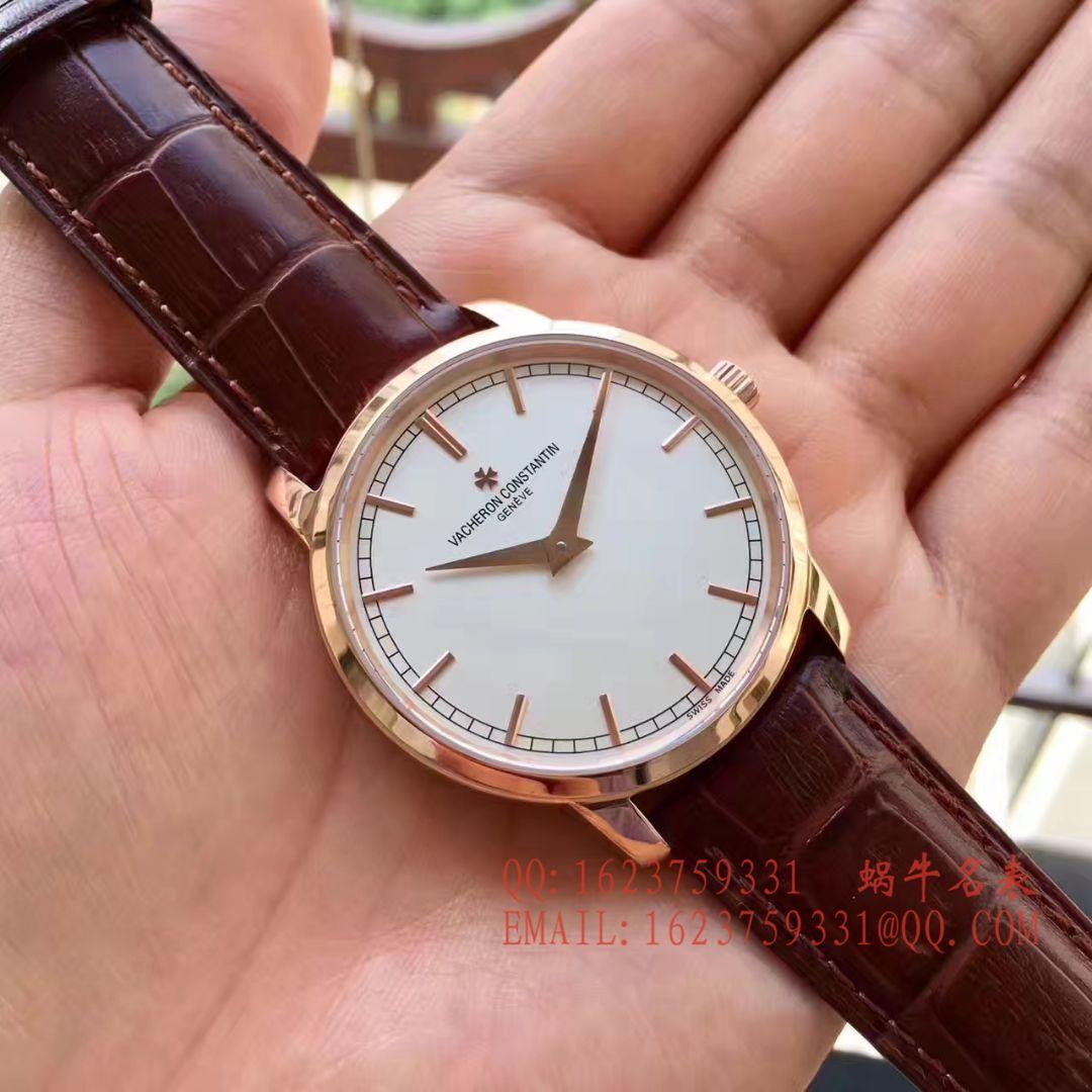 【台湾厂一比一超A高仿手表】江诗丹顿传袭系列43075/000R-9737腕表 / JS161