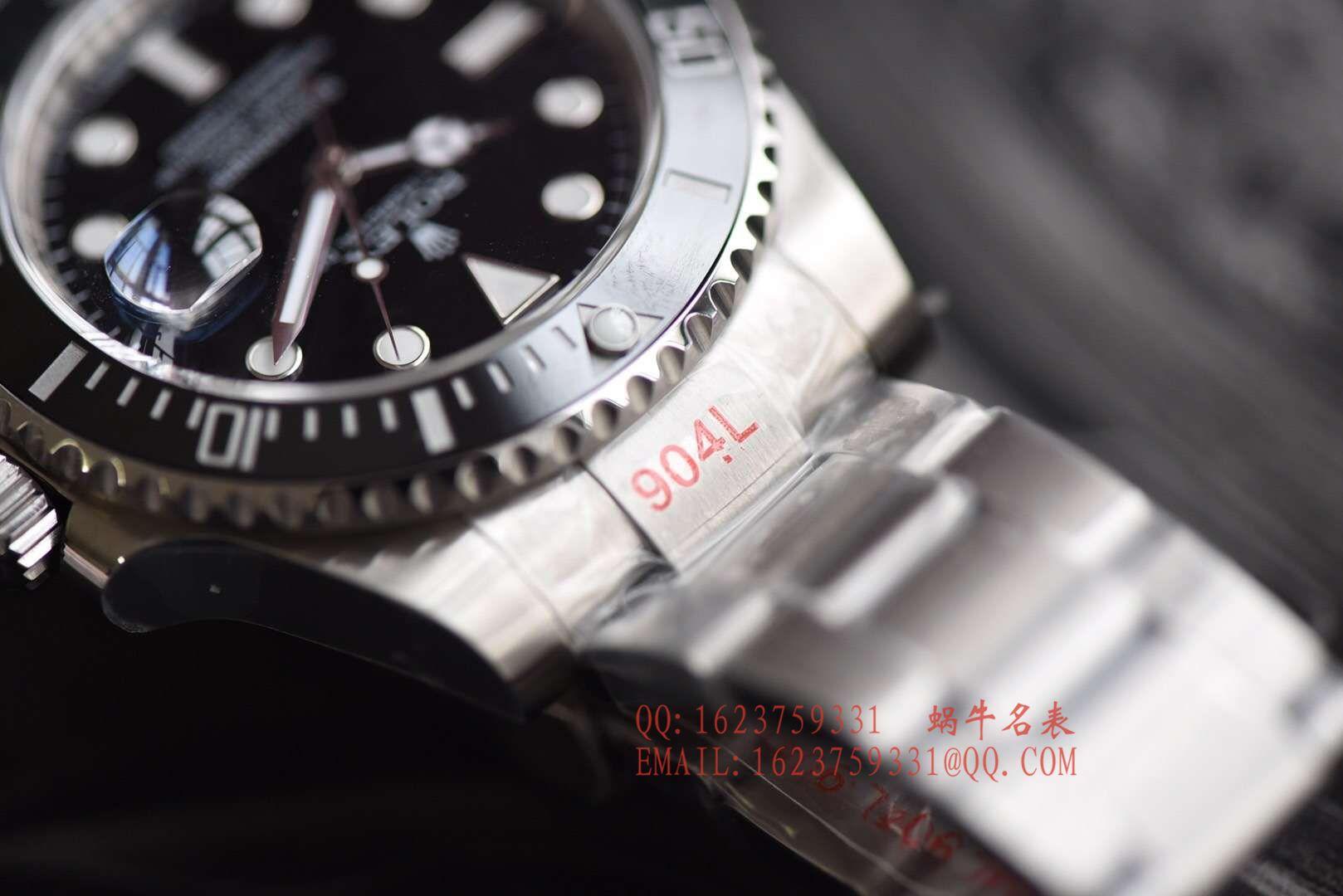 【NOOB厂V9版本904L不锈钢版本】劳力士潜航者型系列116610LV-97200 绿盘腕表(绿水鬼)、116610LN-97200 《黑水鬼》 / RCB199
