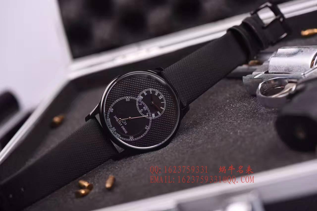 【KS厂一比一超A高仿手表】雅克德罗大秒针系列J003035540腕表 / YK09