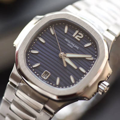 【PF厂一比一超A高仿手表】百达翡丽运动系列7118/1A-001腕表(鹦鹉螺)女表