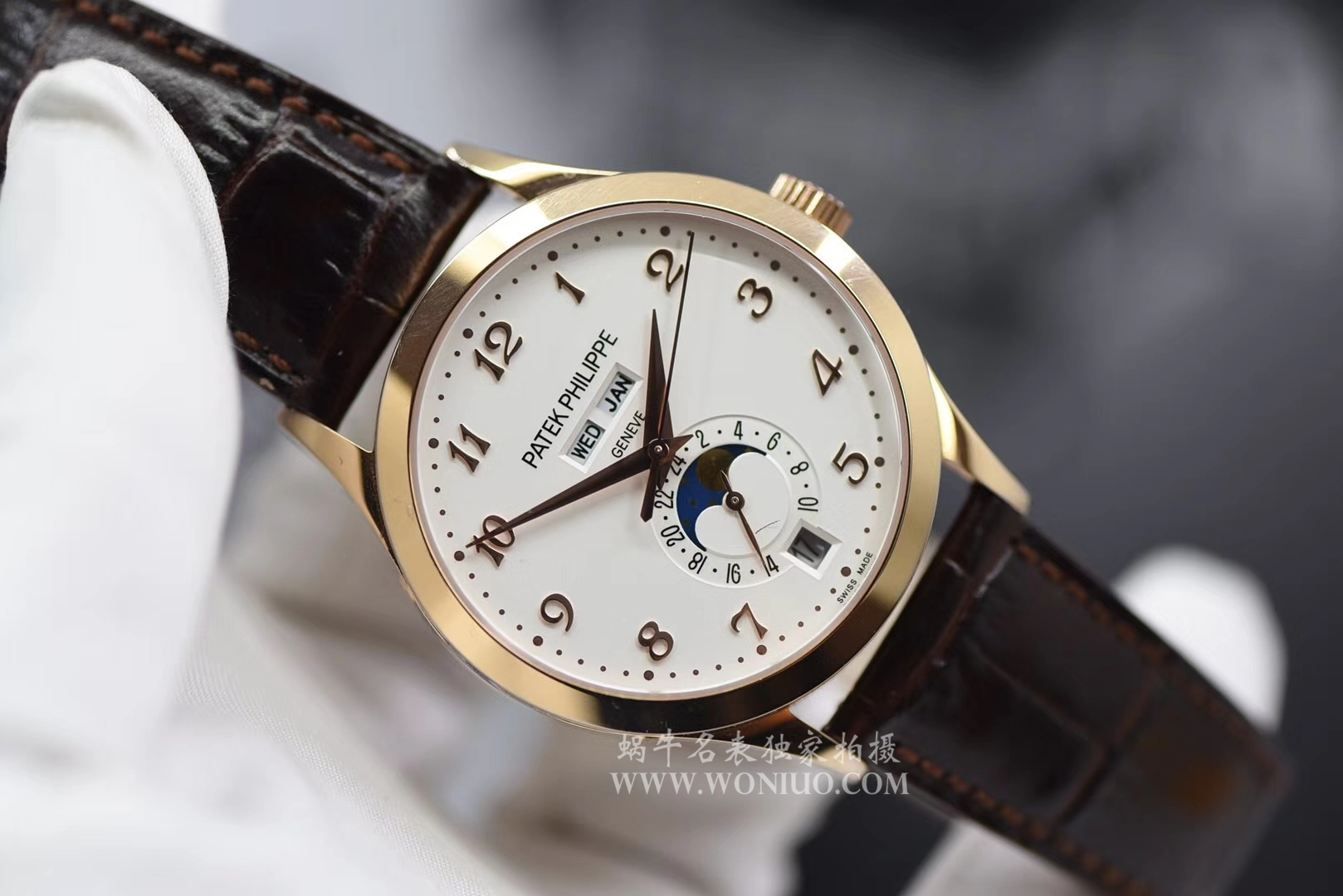 【台湾厂1:1超A高仿手表】百达翡丽复杂功能计时系列5396R-011腕表 / BD171