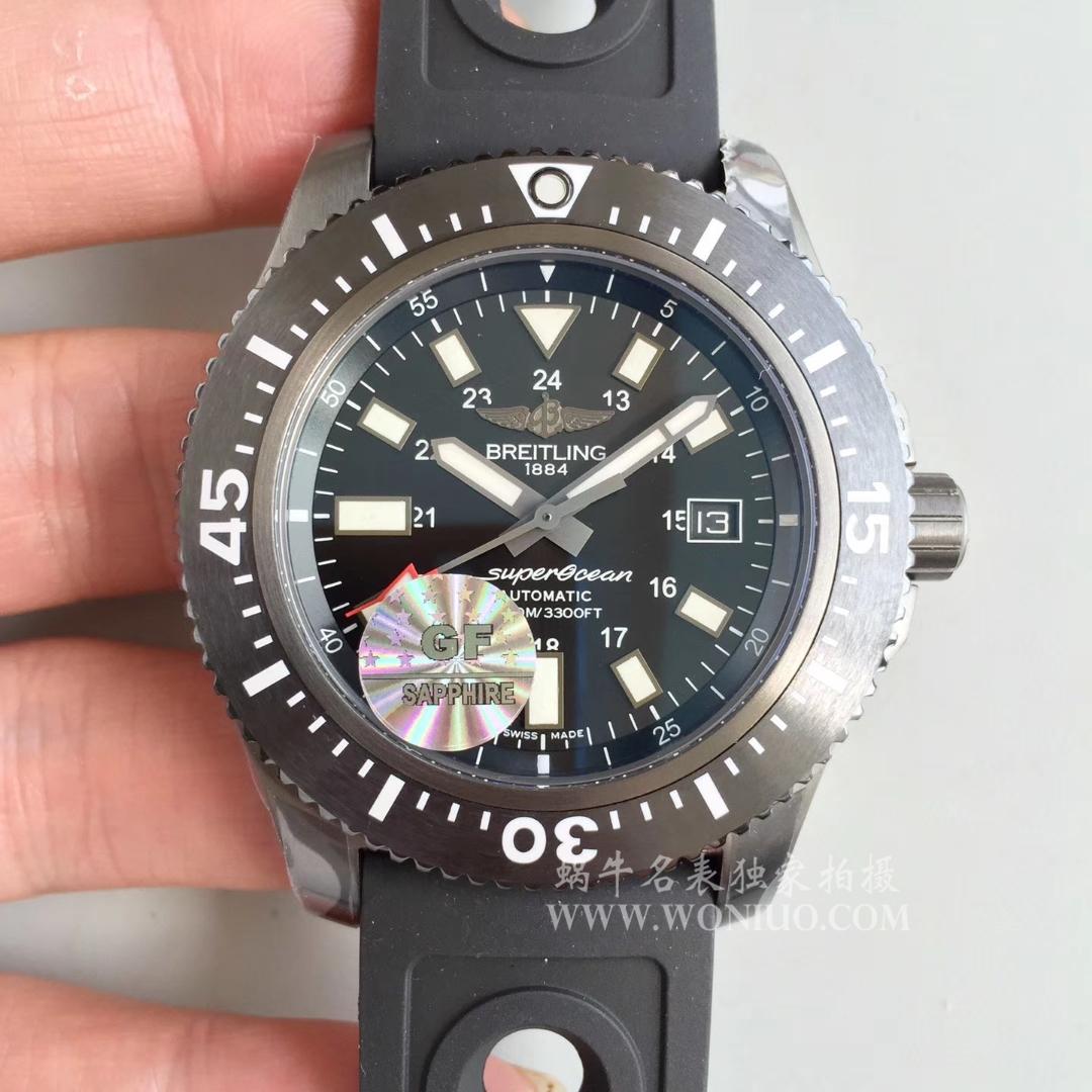 【GF一比一超A高仿手表】百年灵超级海洋系列M1739313|BE92|227S|M20SS.1 超级海洋44特别版腕表 / BL082