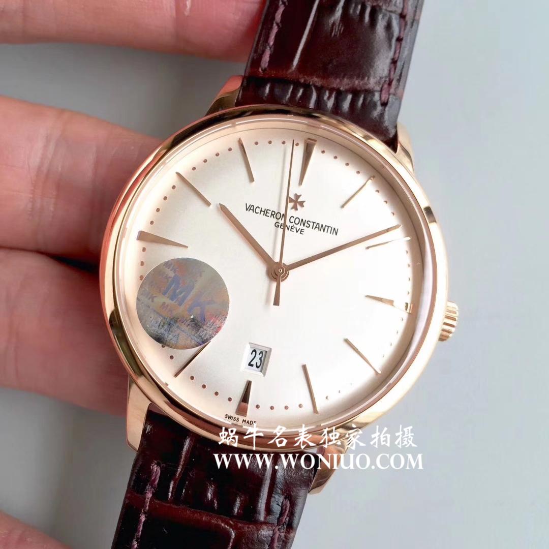 【MK厂一比一超A高仿手表】江诗丹顿传承系列85180/000R-9248腕表 / JS138