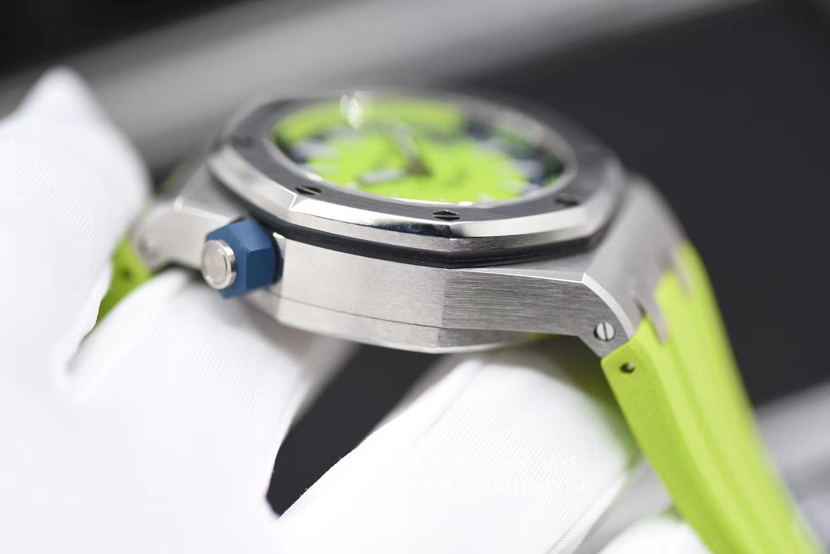 【JF厂1:1精仿手表】爱彼皇家橡树离岸型系列15710ST.OO.A038CA.01腕表 / AP025