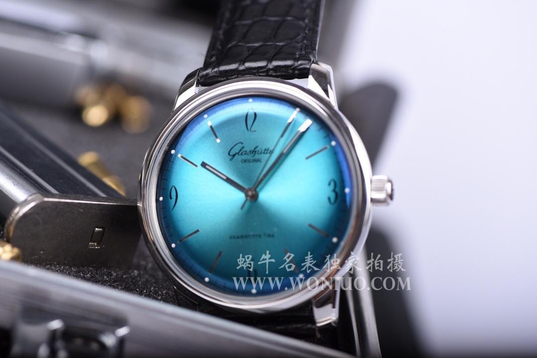 【YL厂出品】格拉苏蒂原创20世纪复古系列1-39-52-09-02-01 男士机械手表 / GLA026