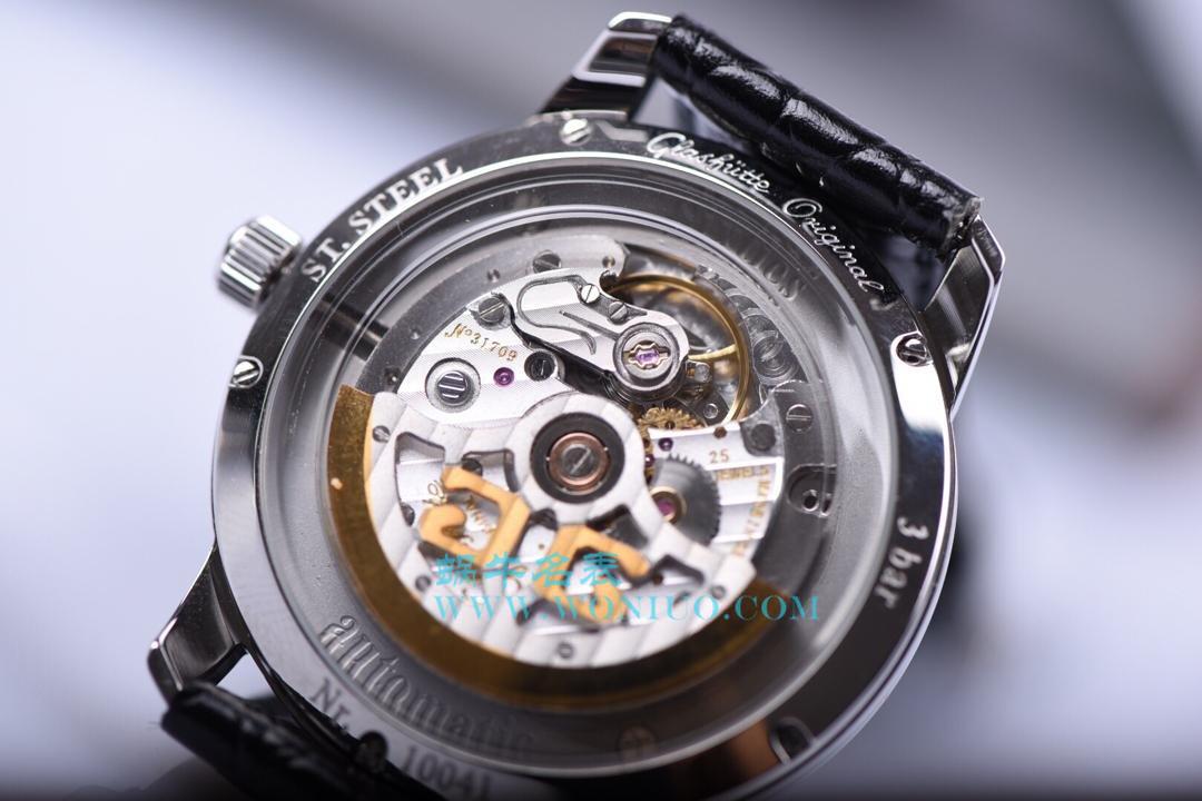 【YL厂出品】格拉苏蒂原创20世纪复古系列1-39-52-01-02-04男士机械腕表 / GLA023