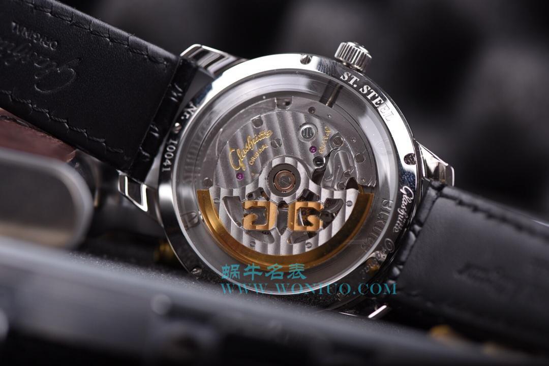 【YL厂出品】格拉苏蒂原创20世纪复古系列1-39-52-06-02-04男士机械腕表 / GLA019