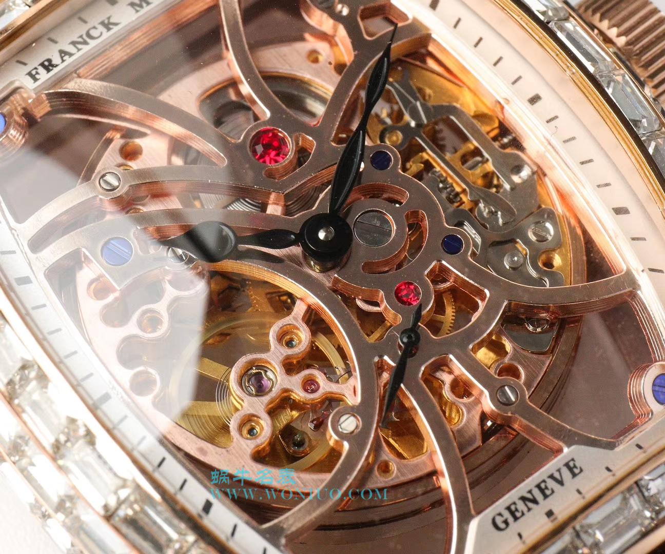 【UF一比一超A高仿手表】法兰克穆勒MEN'S COLLECTION系列8880  新品珍藏版方钻新款 / FL025