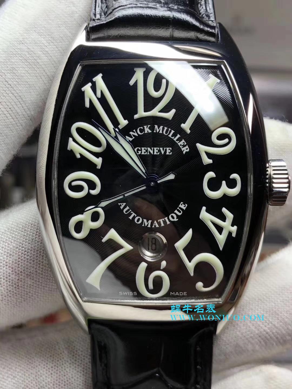 【GF厂一比一超A高仿手表】法兰克穆勒CASABLANCA系列8880 C DT 黑盘腕表 / FL23