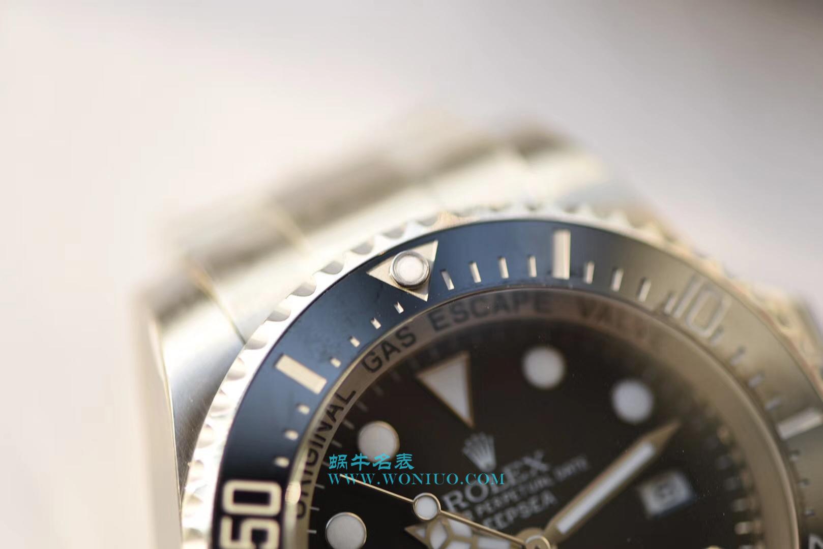 【独家视频评测NOOB厂V7版本一比一超A高仿手表】劳力士海使型系列116660-98210 黑盘腕表(大号黑水鬼王) / R105