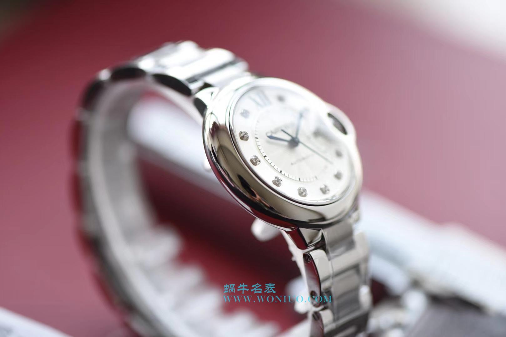 【V6一比一超A高仿手表】卡地亚蓝气球系列WE902074女装33毫米机械腕表 / K149