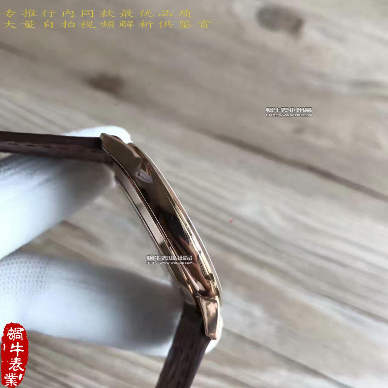 【台湾厂一比一超A精仿手表】江诗丹顿传承系列81180/000R-9159腕表 / JS130