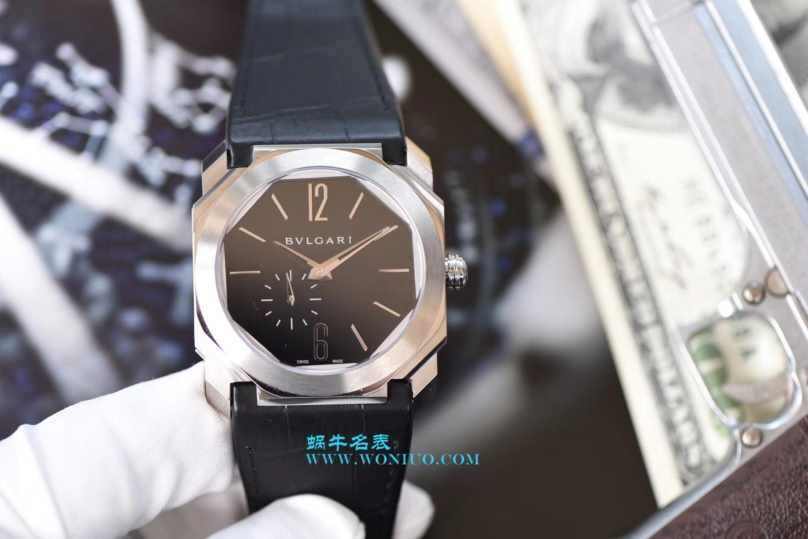 【台湾厂一比一超A高仿手表】宝格丽OCTO系列102028 BGO40BPLXT腕表 / BZ017