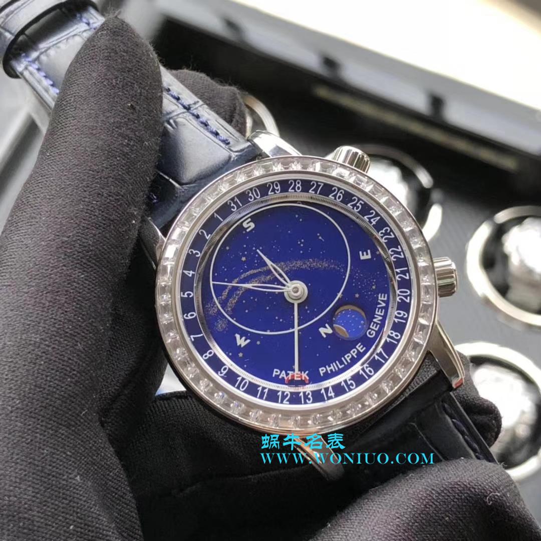 【视频评测】高仿百达翡丽超级复杂功能计时系列6102P-001 、6104G-001、铂金腕表/6102R-001 玫瑰金腕表 / BD219