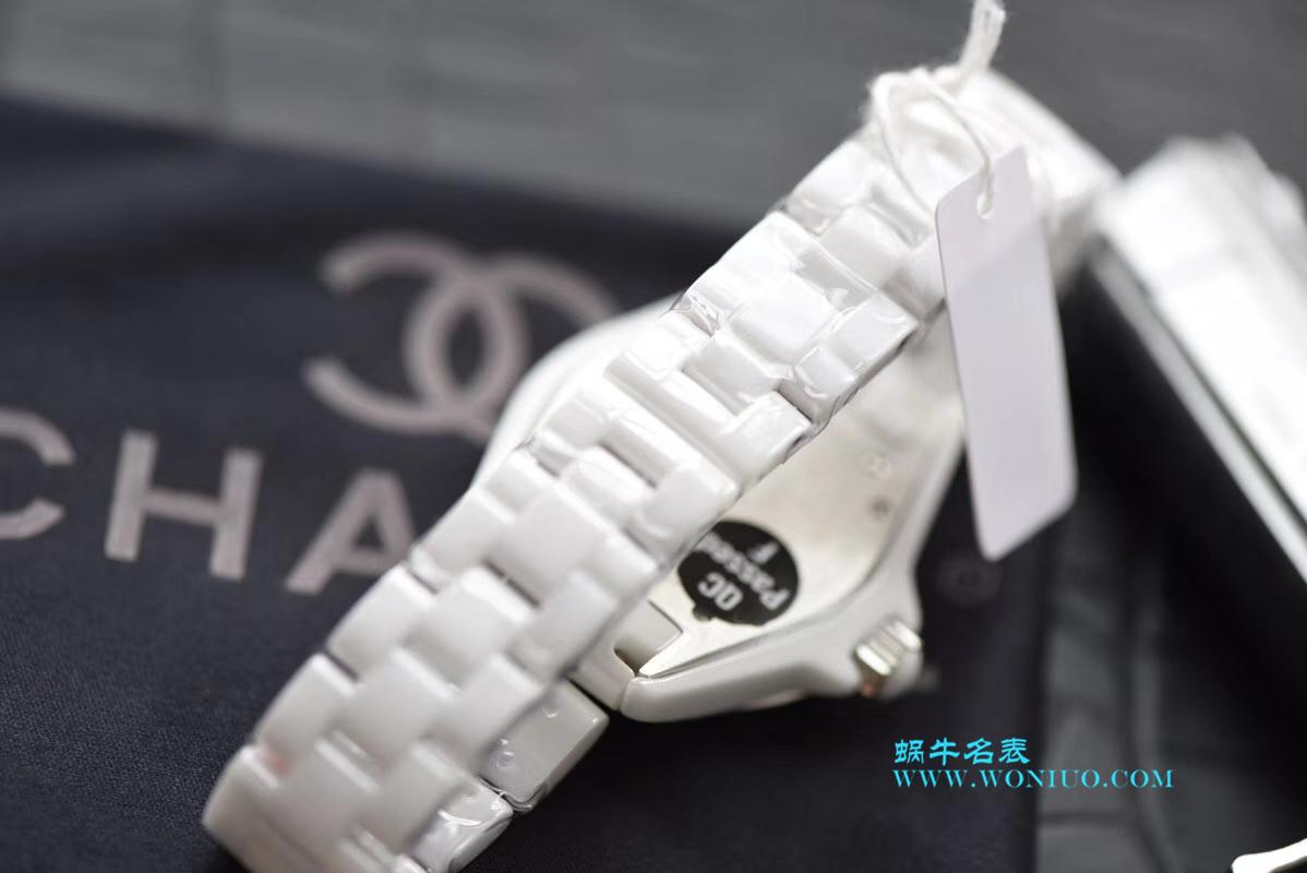 【独家视频评测】KOR韩版 香奈儿 J12香奈儿INTENSE 重置加强版女士石英腕表 / X026