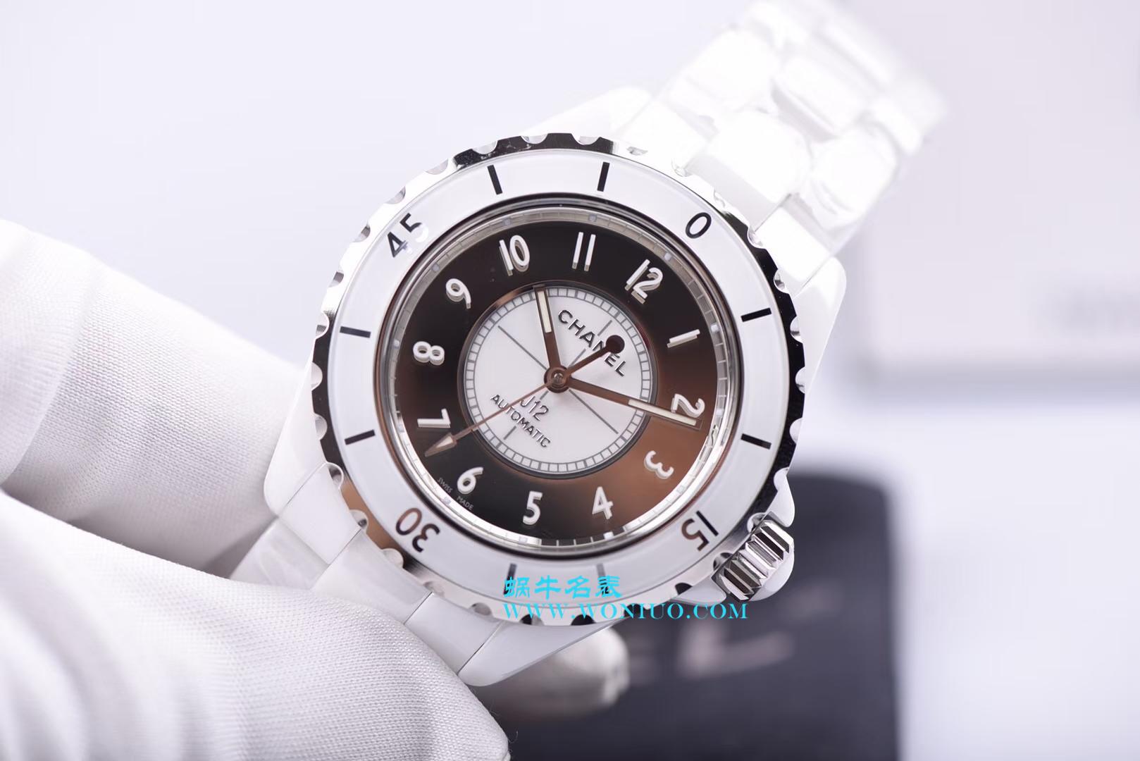 【独家视频评测】KOR韩版 香奈儿 J12香奈儿INTENSE 重置加强版38MM 男女中性机械腕表 / X027