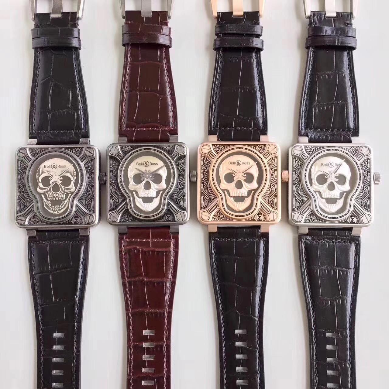 【独家视频评测】柏莱士BELL & ROSS BR 01 Burning skull  Instruments 系列限量版骷颅头 / BLCH019