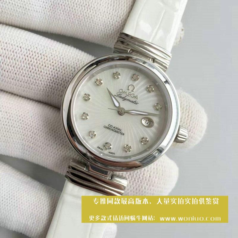 【V6厂1:1超A高仿手表】欧米茄碟飞系列425.33.34.20.55.001 女士腕表《欧米茄鸟巢》 / M063