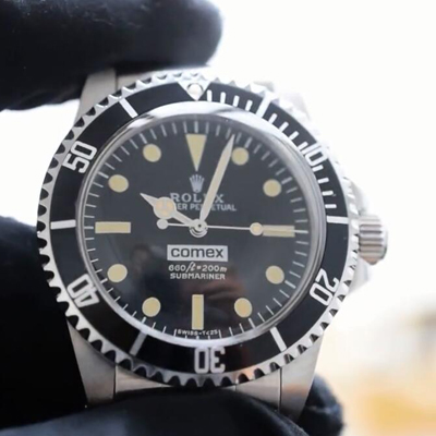 【独家视频介绍】Rolex Submariner COMEX劳力士COMEX复古系列
