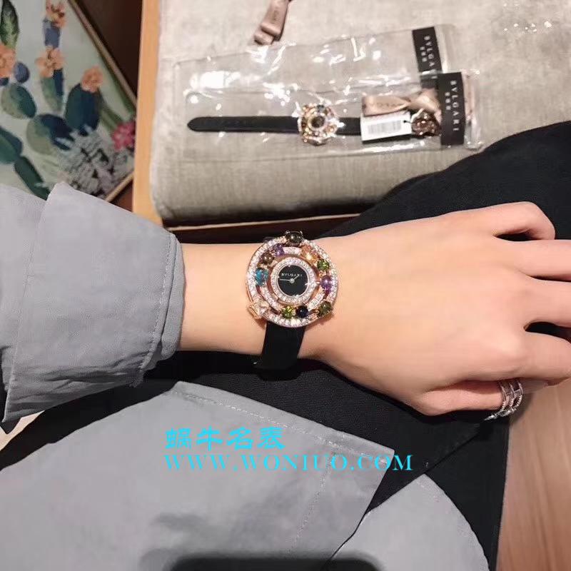 宝格丽astrale珠宝系列腕表闪亮登场 限量发售 按订货顺序出货 黄金镶嵌彩色宝石 / BG011