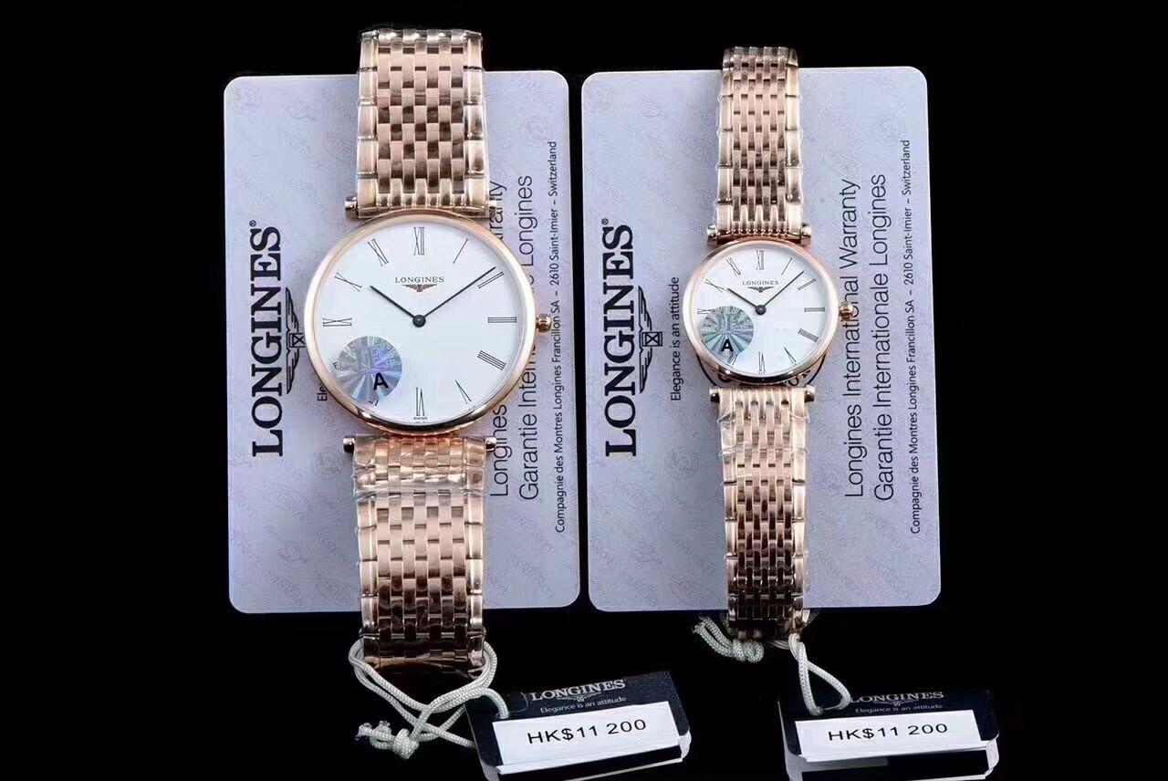 【MK厂一比一超A精仿手表】浪琴优雅系列L4.209.2.12.7女士腕表 / L073B