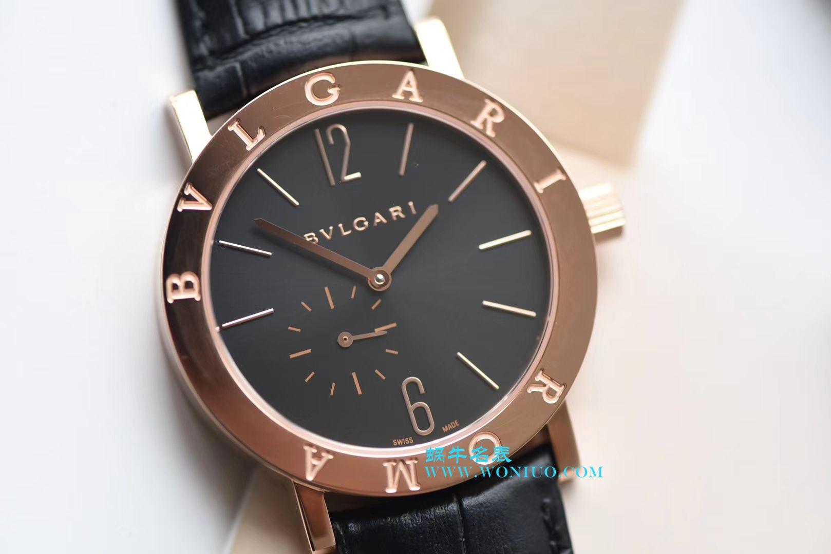【台湾厂一比一超A高仿手表】宝格丽BVLGARI∙BVLGARI系列102357 BBP41BSLXT腕表 / BZ020