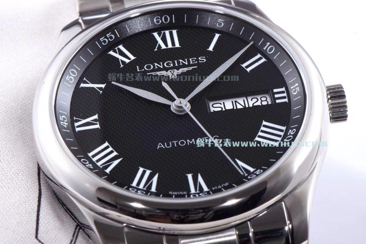 【LG一比一超A高仿手表】浪琴MASTER COLLECTION名匠系列L2.755.4.51.6《钢带》,L2.755.4.51.7《皮带》腕表 / L102