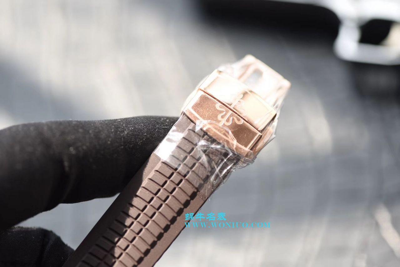 【PF一比一超A精仿手表】百达翡丽AQUANAUT系列5167R-001腕表《百达翡丽手雷》 / BD128