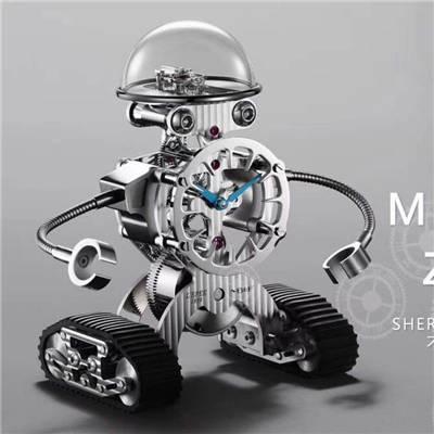 发货随手拍、视频赏析ZF概念新品MB&F机器人SherMan价格报价