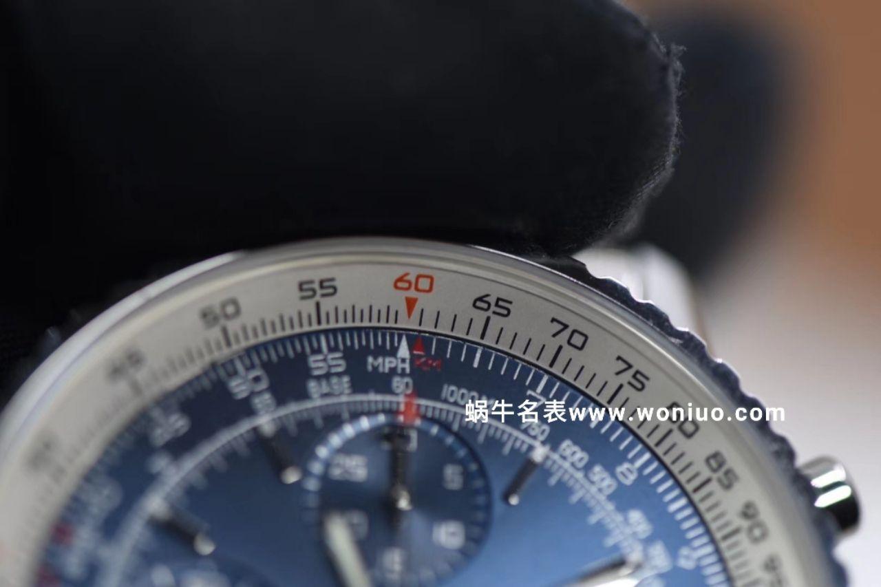 款堪称百年经典!百年灵航空计时原单货蓝面+黑面+皮带+钢带A1332412|C942|451A / BL083