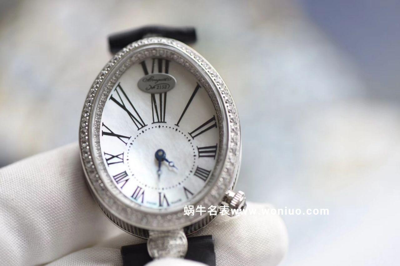 宝玑那不勒斯皇后精品 中等尺寸 大部分女生适用蓝宝石镜面,贝母表面女表 / BZ051