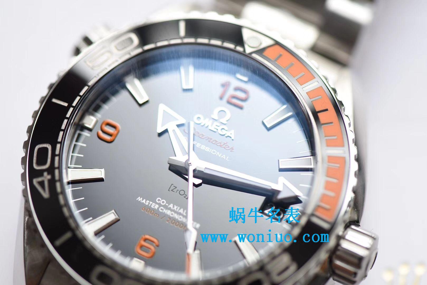 【全网首发‼️3S超级海洋宇宙黑橙圈】欧米茄Seamaster海洋宇宙600米215.30.44.21.01.002腕表 / M322