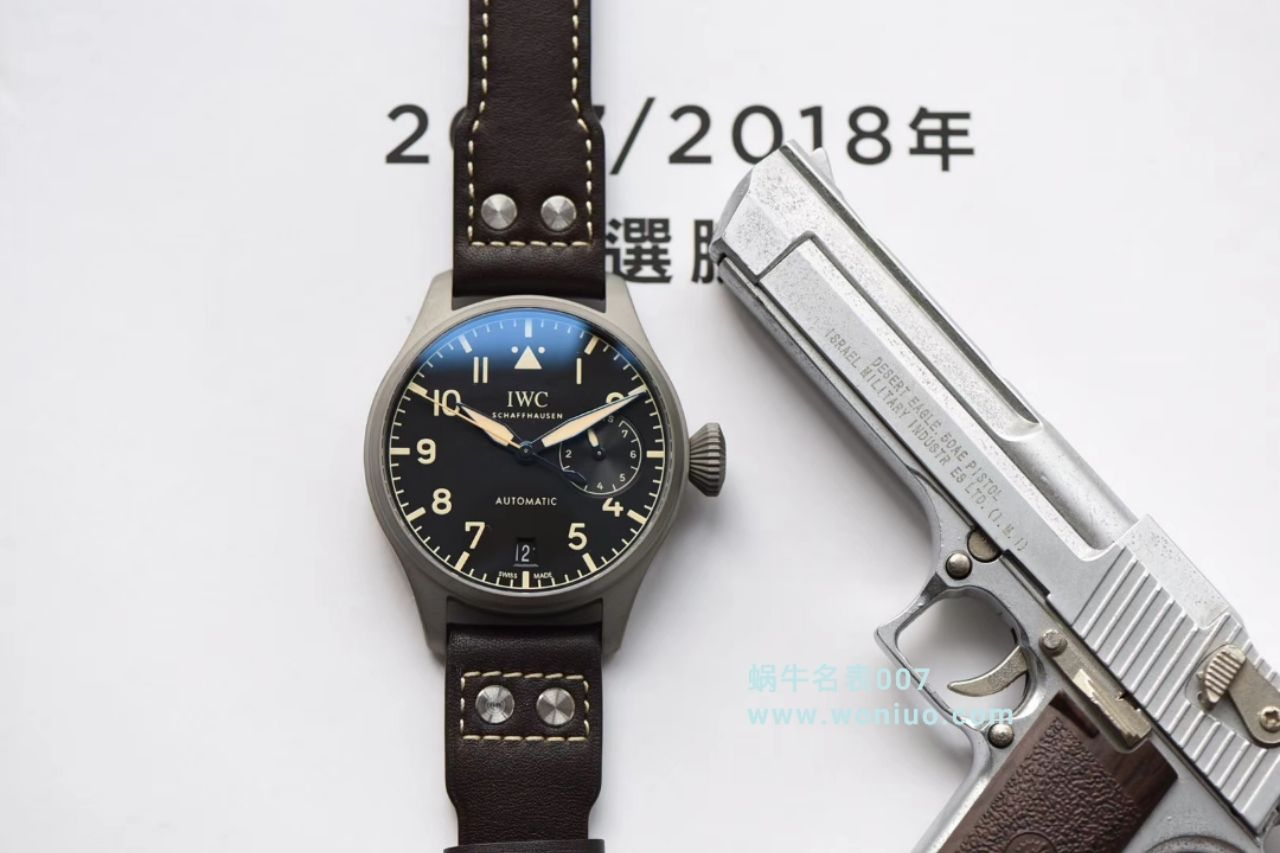 YL厂最新力作 腕表型号:IW501004)万国IWC这款大型飞行员传承腕表 / WG321