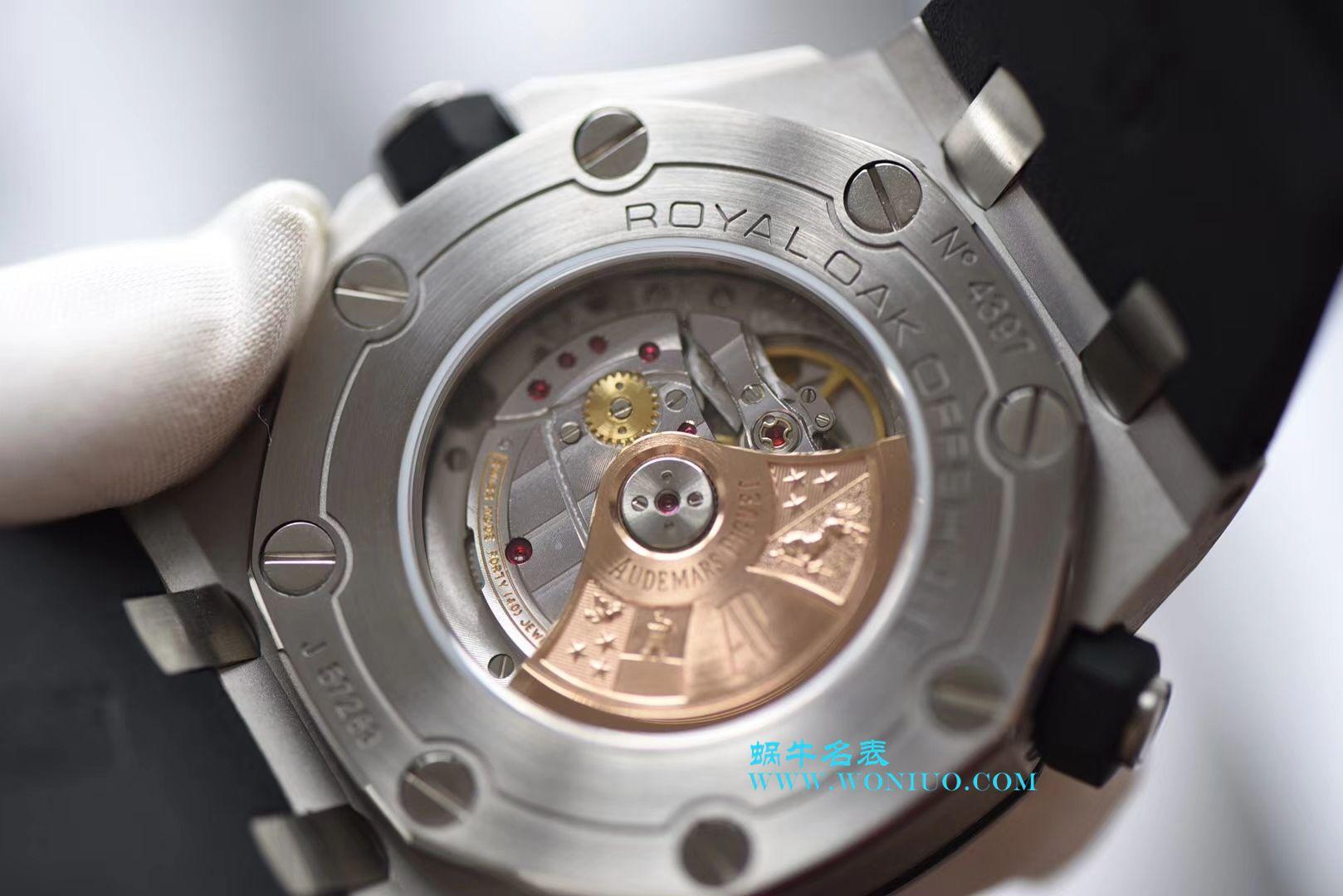 【JF厂超A精仿手表】爱彼皇家橡树离岸型系列15710ST.OO.A002CA.02机械腕表 / AP057